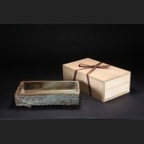 象嵌縄文水盤