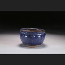 東福寺瑠璃釉鋲打丸