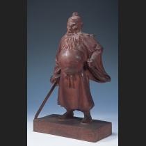 木彫 鐘馗像