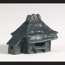 鋳銅 茅舎